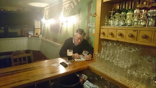 Lismore, Ireland: The Classroom Bar