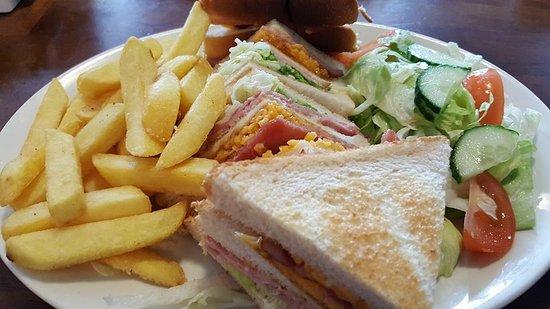 Stourport on Severn, UK: Club sandwich
