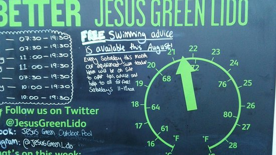 Jesus green outdoor pool cambridge 2018 all you need to know before you go with photos for Jesus green swimming pool cambridge