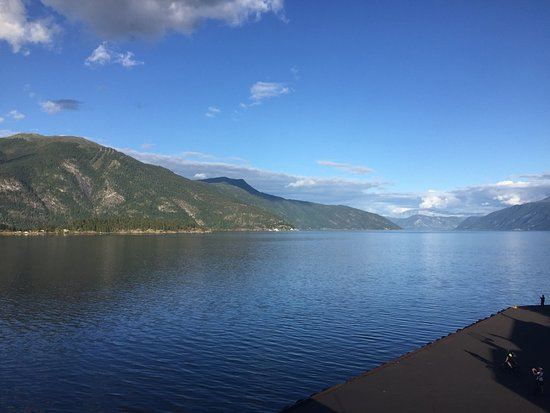 Balestrand, Noruega: View from the dome