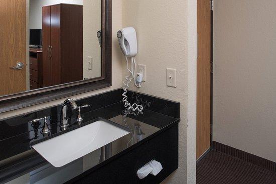 AmericInn Lodge & Suites Belle Fourche: Americ Inn Belle Fourche SDStandard Vanity