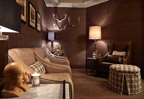 Pittsford, Nova York: Spa at the Del Monte  - Men's Sanctuary Relaxation Lounge