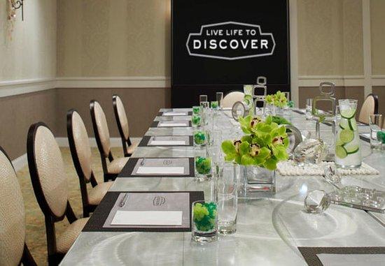 Pittsford, NY: Monterey Ballroom - Boardroom Setup