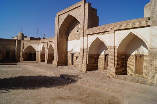 Khiva, Uzbekistan: внутренний двор