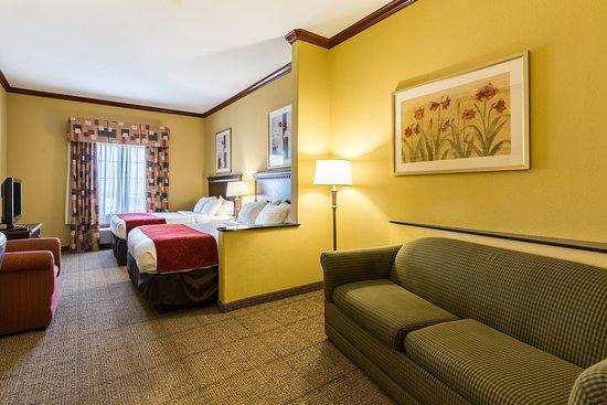Comfort Suites Galveston: Guest room
