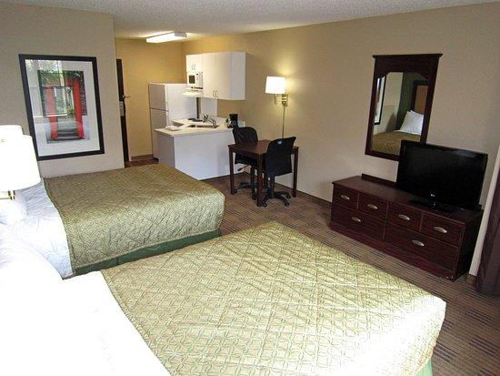 Temple Terrace, Flórida: Studio Suite - 2 Double Beds