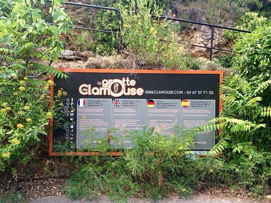 Saint-Jean-de-Fos, فرنسا: Grotte de Clamouse