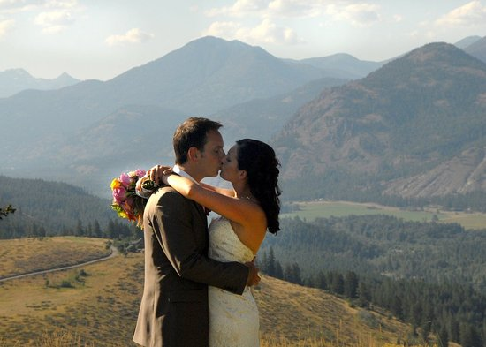 Winthrop, Ουάσιγκτον: Sun Mountain Lodge wedding