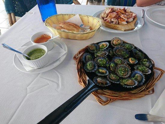 El Golfo, Spania: Tremendo de rico!!