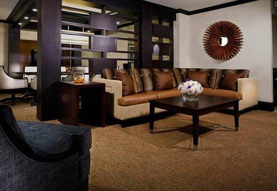 Decatur, GA: Presidential Suite Living Area