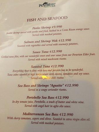 Restaurante Pescatore: Sauco Tuna.