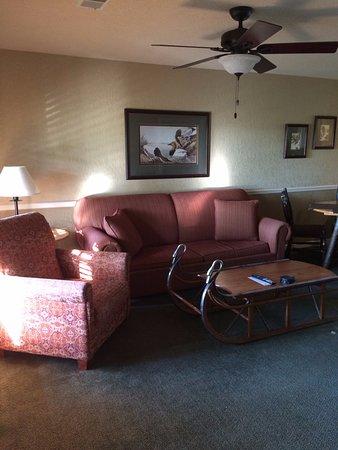 South Lee, MA: Living room