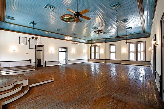 Blanco, Teksas: Courtroom