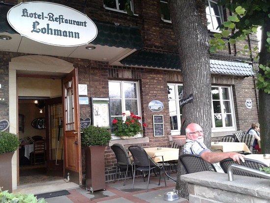 Drensteinfurt, Deutschland: Goed hotel, leuk terras.
