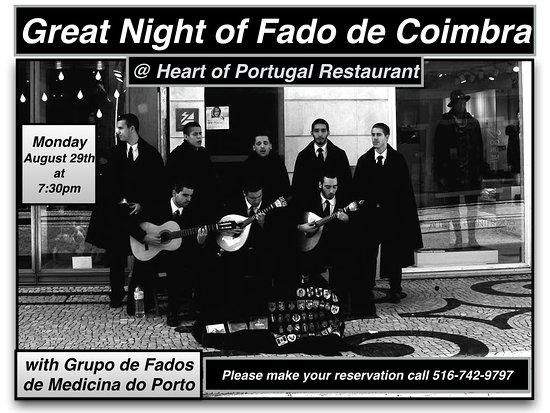 Mineola, NY: Great Night of Fado