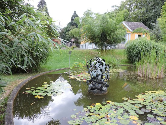 Jardín Botánico de Friburgo.
