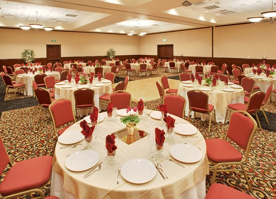 Holiday Inn Express Hotel & Suites Gold Miners Inn-Grass Valley: Grass Valley Hotel, Ballroom