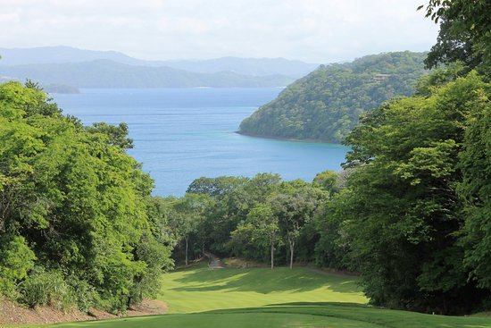 Four Seasons Resort Costa Rica at Peninsula Papagayo: View from the 6 hole on the golf course