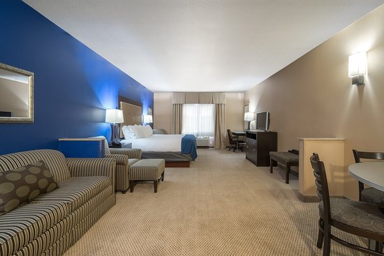 Chippewa Falls, Ουισκόνσιν: King Bed Suite Holiday Inn Express Eau Claire North