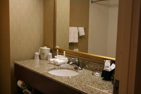 Wilmington, OH: The large bathroom give you plenty of room to prepare for the day!