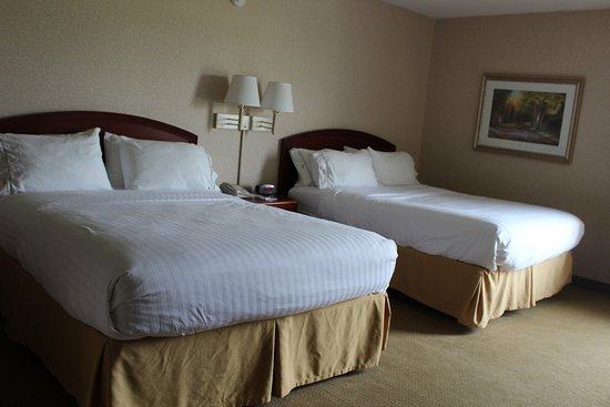 Wilmington, OH: Our two queen beds offer you  a super amount of space!