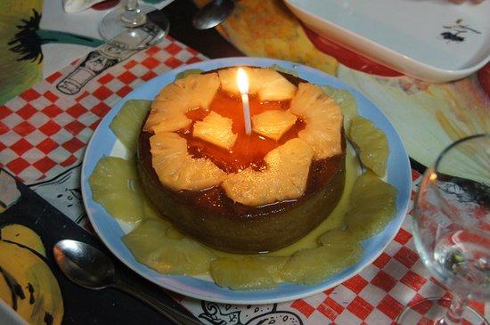 Pinar del Rio, Küba: gateau surprise d'anniversaire , merci Marie
