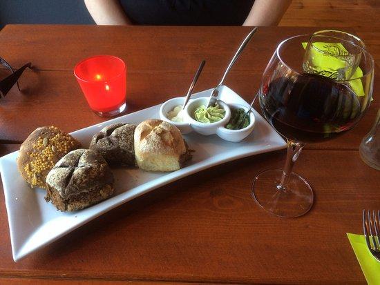 Uden, Niederlande: Het brood met smeerseltjes, heerlijk.