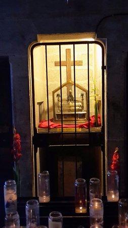 Plan-d'Aups-Sainte-Baume, Francia: la reliquia