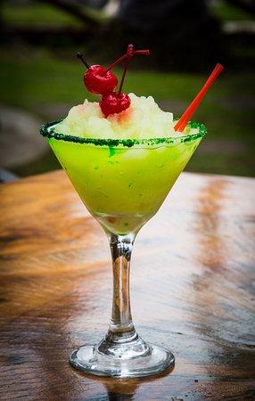 Jaco Laguna Resort & Beach Club: frozen Margarita at the tikiBar
