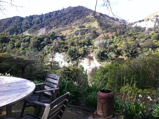The Flying Fox: View across the river from property