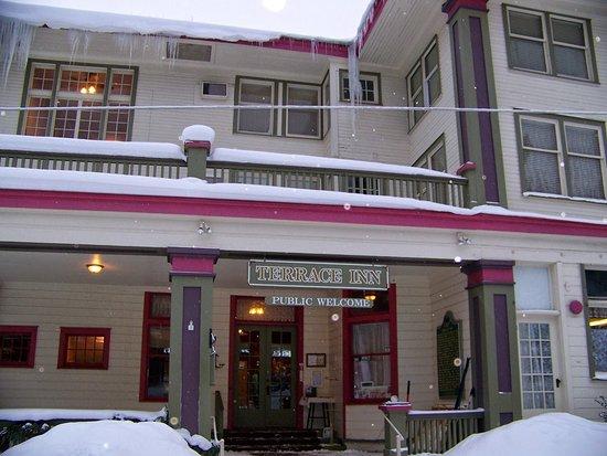 Petoskey, MI: Winter at the Terrace Inn
