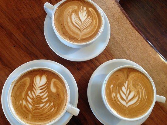 Marble Falls, Τέξας: Latte Art