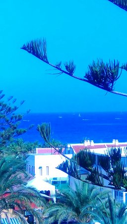 Colon II Apartments: View from room 406 ...2 bed app..