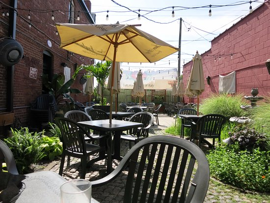 Iozzou0027s Garden Of Italy: The Patio Is Very Quaint. It Is Right Underneath  The