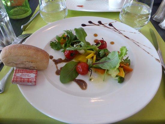 La Villa Blanche: salade du jour