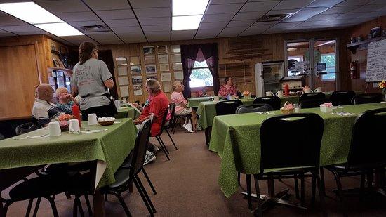 Benton, Pensilvanya: nice interior with plenty of room.