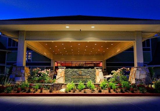Lake Arrowhead, كاليفورنيا: Entrance