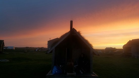 North Uist, UK: The Tractor Shed