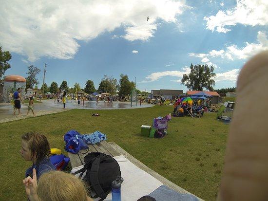 Puslinch, Canadá: Splash Pad
