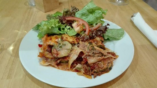 Bensheim, Germania: Lasagnen-Variation