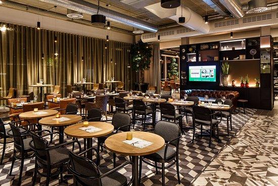 Diegem, Bélgica: Bar and Lounge