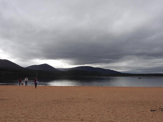 Aviemore, UK: taking in the scenery