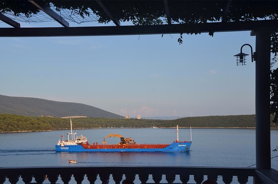 Krnica, كرواتيا: Panorama dalla terrazza del ristorante