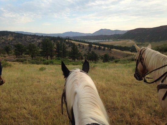 Loveland, CO: Trail to breakfast