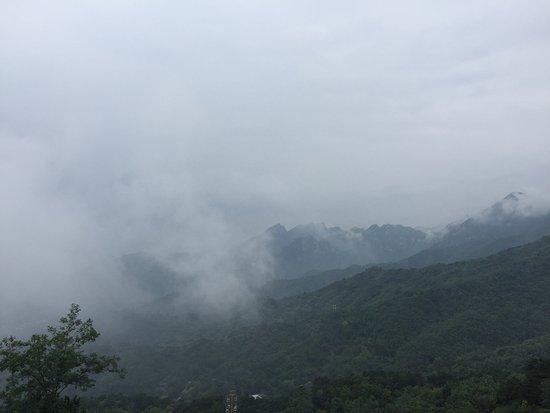 Mutianyu (Abschnitt der Chinesischen Mauer): Foggy