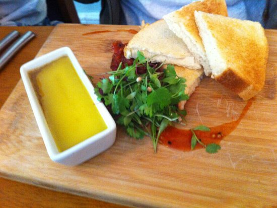 Wantage, UK : Pate and toast