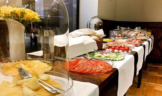 Hotel Monopol: Conference lunch; Breakfast