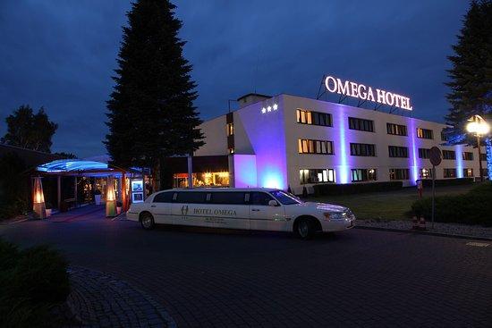 Olsztyn, โปแลนด์: front of the hotel