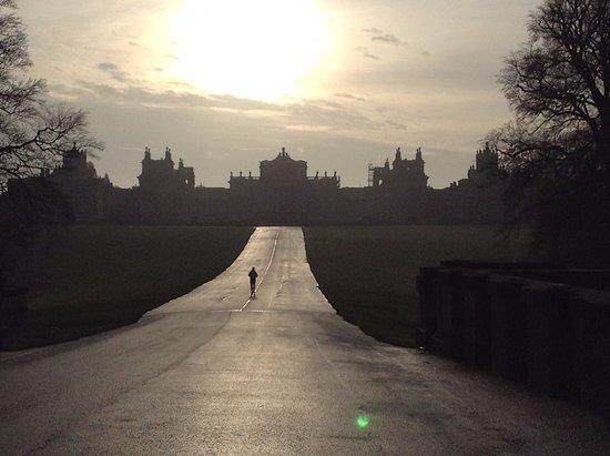 Corsham, UK: sunset over the Palace