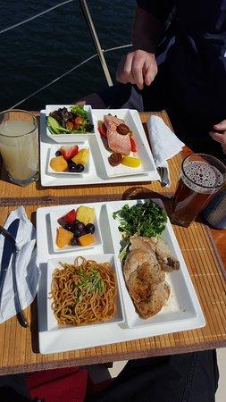 Ucluelet, Canadá: Gourmet meal!